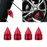 4Pcs/Set Car Auto Aluminum Tire/Rim Valve/Wheel Air Port Dust Cover Stem Cap Hot