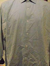 English Laundry Men's Long Sleeve Flip Cuff shirt 16 - 16 1/2 34/35