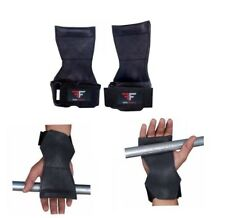 Weight Lifting Grips Training Gym Straps Gloves Wrist Support Bar Wrap