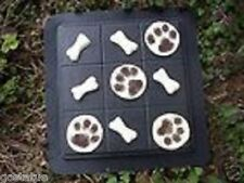 tic tac toe bones and paws abs plastic mold 11 molds