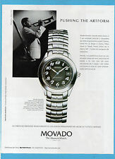 BELLEU998-PUBBLICITA'/ADVERTISING-1998- MOVADO KINGMATIC