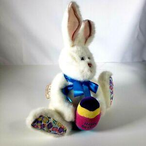 Boyds Bears The Head Bean Collection Esther Bunny Rabbit Soft Stuffed Plush
