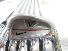 Used RH Nike Vr Split Cavity (4-PW) Iron Set Dynamic Gold Steel Stiff Flex S