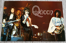 Queen poster Freddie Mercury Queen Sheer Hear Attack live on stage poster RaRe