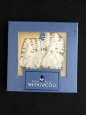 Wedgwood Merry Christmas White Jasper Christmas Ornament 2-25001-2000 Retired