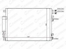 Nouveau Condenseur Air avec radiateur Dodge Journey 2012-2016 OE 68102117AA 68038239AA