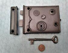Interior Rim Lock Only Reversible Restored Rhc