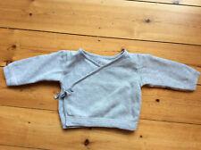 Petit Bateau wrapover cardigan - size 12 months