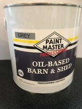 GREY Barn And Shed,fence Paint 2.5LT Used By The Professionals