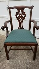 Henkel Harris Mahogany Arm Chair Model 101A Finish #29 Needs Work