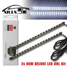 2x High Power 5630 18SMD Cool White Waterproof Car COB LED DRL Fog Driving Light