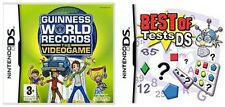 Guinness World Records The Videogame & best of tests ds      new&sealed