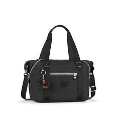 Bnwt KIPLING Kunst S kleine Handtasche/Schultertasche Schwarz UVP £ 74