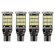 4X CANBUS No Error 921 912 T15 W16W LED Reverse Backup Light Tail Bulb White 12V