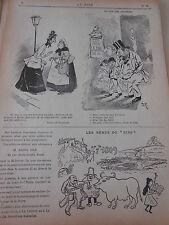 Caricature 1895 Le coin des Amateurs Opéra La Juive