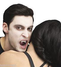 True Horror Teeth-CUSTOM FIT VAMPIRE FANG-Halloween Prop Blood Costume Accessory