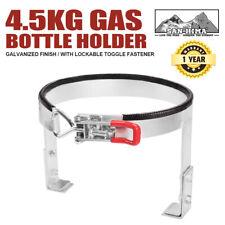 Adjustable 9kg Gas Bottle Holder for Trailer Caravan Camper RV Galvanized 4wd