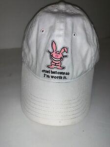 It's Happy Bunny Hat New