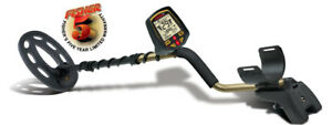 """Fisher F70 Metal Detector with 10"""" Elliptical Coil - NEW IN BOX"""