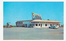 St.Germain (Drummond),Quebec,Canada,Restaurant Central,BBQ,Gas Station,c.1950s