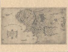 Lord Of The Rings - Hobbit Map Of Middle Earth > Mordor > Flyer Prop/Replica