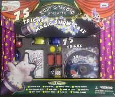 75 Tricks Magic Show Case - Eddy's Magic - Watch The DVD ** GREAT GIFT **