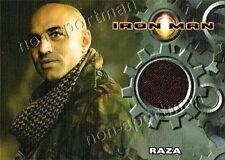 IRON MAN MOVIE RAZA CAMMO JACKET COSTUME CARD