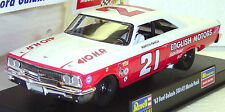 REVELL MONOGRAM 4891 63' FORD GALAXIE MARVIN PANCH NEW 1/32 SLOT CAR IN DISPLAY