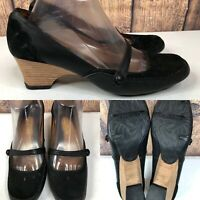 Womens KENNETH COLE REACTION 'Bar Fly' Black Mary Jane Pumps Shoes SIZE 8.5 M