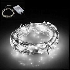 100 LED Solar Power Rope Tube String Fairy light Garden Yard Party Waterproof