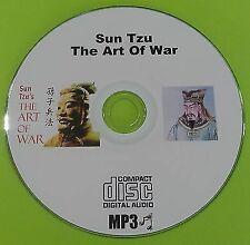 Sun Tzu The Art Of War Sunzi MP3 CD Audio Book Collection