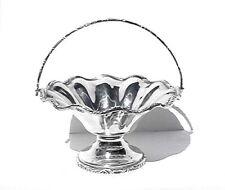 Antique .925 Sterling Silver Basket