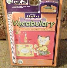 LeapPad Interactive Book and Cartridge Leap 1 Vocabulary Ages 4-6 Richard Scarry