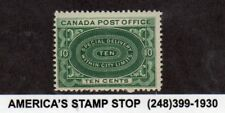 1898 Canada SC E1 Special Delivery 10c Blue Green, F/VF MNH Mint - P.O. Fresh