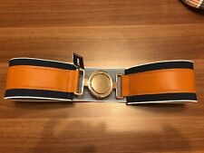 Express Elastic Leather Waist Belt XS