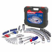 Set of Home Tools For Car Repair Sockets Set Ratchet Spanners Wrench 101PC