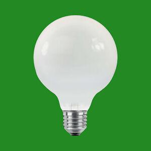 1x 100W Dimmable Incandescent Opal G80 Decor Globe ES E27 Light Bulb Lamp, 230V