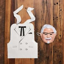 COLONEL SANDERS Halloween Harland KFC Limited Costume NEW SOLD OUT $$$ HOT
