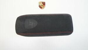 Porsche 991 .2 FL 718 982 Deckel Armlehne Mittelkonsole Blende Alcantara f.67