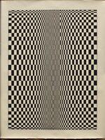 Bridget Riley - screen print (serigraph) Sol Lewitt, Vasarely, Jesus Soto
