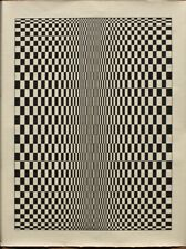 Bridget Riley - screen print (serigraph) Sol Lewitt, Vasarely, Jesus Soto