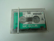 MAXELL MC-60 UR Microcassettes (Pack of 2) Pack Micro Cassette New