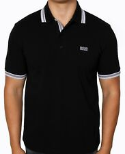 Boss Green 50198254 Mens Paddy Polo 10102943 Black Shirt 3xl