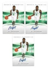 LOT of (3) COUNT 2004-05 Al Jefferson SP Authentic #173 AUTO RC #D/1499 (T206)