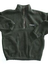 Tahoe Activewear Green 1/4 Neck  Pull Over VERMONT Fleece Jacket  Med USA  NYZ20