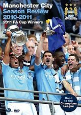 Manchester City Season Review 2010/11 Road to FA Cup Glory Champions League DVD