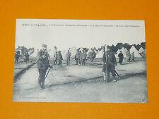 CPA CARTE POSTALE 1915 GUERRE 14-18 PRISONNIERS ALLEMANDS COËTQUIDAN BREIZH