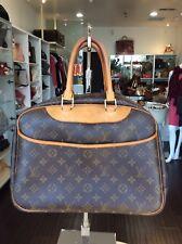 Louis Vuitton Monogram Deauville GM Large Tote Purse Handbag Pick Up@LA Store