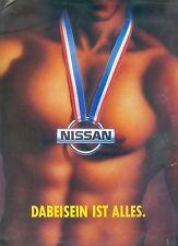 Nissan Modellprogramm Prospekt 1992 brochure Auto PKWs Japan Asien Autoprospekt