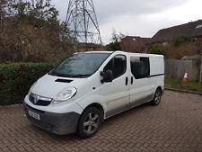 2009 Vauxhall Vivaro Crew Cab LWB 2.0 CDTI ,crew van, trafic, primastar, traffic